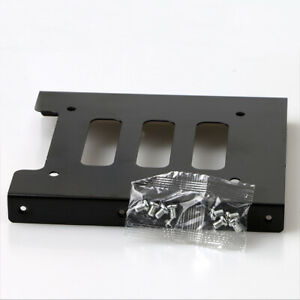 Lot of 3 2.5 to 3.5 HD bracket Solid state drive SSD bracket with 8 screws