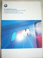 BMW M Models range brochure 1999 Ed 1