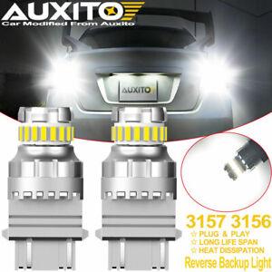AUXITO 3156 3157 4157 23-LED Backup Reverse Light Bulbs 6000K Xenon White Bright