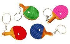 Porte Clés Moderne Gadget Keychain Raquette Ping-pong 6 cm 6 Modèle au choix