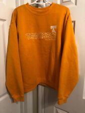 Vintage Adidas UT Tennessee Vols Pullover Sweatshirt Team Orange Large LkNew