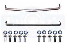 1967 67 Camaro Front & Rear Bumper Kit with Bolts