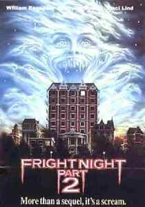 Fright Night Part 2 - 1988 Horror - William Ragsdale, Roddy McDowall, Traci Lind