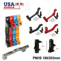 Front Rear Rotor IS//PM 180//203mm Caliper Adapter Post Mount Accessory Bracket