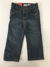 Jumping Beans Boys Straight Fit Jeans 2T NWT $22 Adjustable Waist