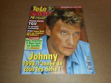 Télé Loisirs n° 620 Janvier 1998 - Johnny Hallyday ; Shannen Doherty...