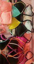 Victorias Secret Wholesale Lot Store Overstock Bikini swimsuit Tops NEW 8 PC