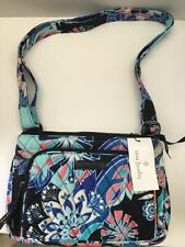 Vera Bradley Little Hipster CROSSBODY / Shoulder Purse LOTUS FLOWER SWIRLS  NWT