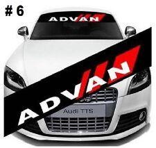 "Reflective ADVAN Windshield Banner Decal Racing Car Sticker 51""X8.25"""
