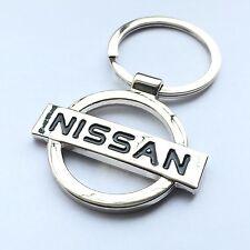 NISSAN 3D Chrome Metal Car Logo Keyring Key Fob Keychain