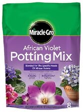 (4) MIRACLE-GRO  8 QT  AFRICAN VIOLET POTTING SOIL MIX READY TO USE  72678430