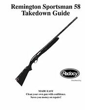 Remington  Model  58  Takedown Disassembly Assembly Guide Radocy  NEW