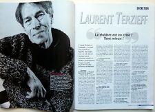 Mag 2001: LAURENT TERZIEFF_ANDRE MALRAUX_NATALIE PORTMAN_CESARIA EVORA