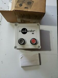InSinkErator MS-7 Commercial Disposer Control Center With On/Off Switch 120V