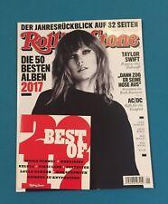 Rolling Stone mit CD Ausgabe 279 Jan.2018  Jahresrückblick ungelesen 1A abs. TOP