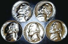 1960 61 62 63 & 64 SUPERB GEM PROOF Jefferson Nickel 5 Coin PRF LOT   NO RESERVE