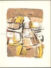 ORLANDO PELAYO - NOCES * RARE ORIGINAL LITHOGRAPH 1962