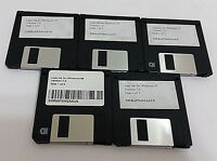 "Wholesale Lot LAPLINK FOR WINDOWS 95 3.5"" Floppy Disks 5 Sets of 3 Diskettes"