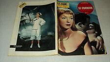 LES FILMS POUR VOUS 231 (16/5/61) MITZI GAYNOR MARINA VLADY RAYMOND PELLEGRIN