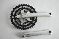 SHIMANO DEORE XT fc-m730 crankset !! 170mm !! good condition ! black charings !!