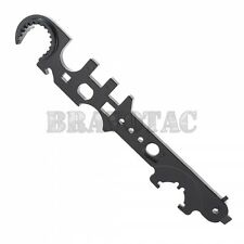 AR15/AR10 Multi-Tool Combo Wrench - Muzzle Brake, Buffer Tube, Barrel Nut, Stock