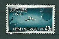 Norway - Mail 1944 Yvert 260 MH Plane