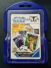 Star Wars Giant Card Games - The Clone Wars - Ravensburger Cards