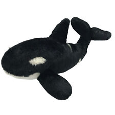 Orca Killer Whale Black and White Soft Plush Stuffed Animal Soft Realistic Toy