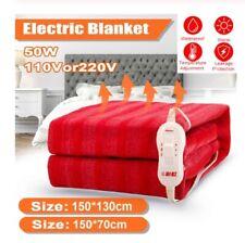 Heated Blanket Washable Electric 110V 220V Waterproof Temperature Adjustable USB