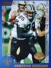 NFL 258 Cameron Cleeland New Orleans Saints Topps 2000