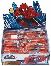 2 X SPIDERMAN WATER WIGGLER GLITTER BATH TOY FUN SQUEEZE SLIPPERY GIFT WIGGLE