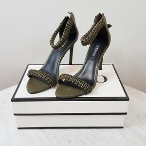 SENSO | Womens Theresa Milirary Matt Kid Stiletto Heels RRP$249 [ Size EUR 40 ]