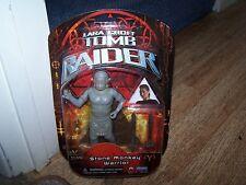 "Lara Croft Tomb Raider 6"" Stone Monkey Warrior Figure * PLAYMATES * 2001 *"
