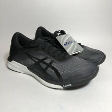 Asics Fuzex Rush - Mens Running Shoes T718N9690 Size 6.5 Midgrey Black White