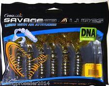 OFF SALE!!! Savage Gear Prologic Loosy Body Grub Worm 10cm 6pcs  X-mas