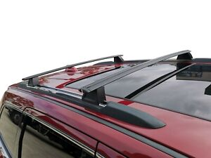 OEM Style Cross Bar Roof Rack for Jeep Grand Cherokee WK 2010-20 Alloy Black