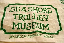 Seashore Trolley Museum Kennebunkport Maine Wall Hanging Tea Towel