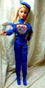 Nascar Barbie 1998 50th Anniversary W/ Sponsored Labels on Original Outfit