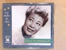 COFFRET 3 CD RARE / ELLA FITZGERALD / ETOILES DU JAZZ / NEUF SOUS CELLO
