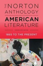 The Norton Anthology of American Literature by Robert S. Levine (2017, Paperbac…