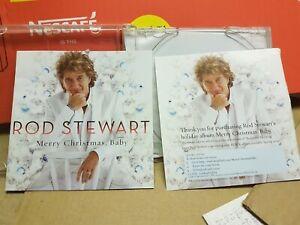 ROD STEWART - MERRY CHRISTMAS BABY CD ALBUM