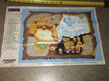 Final Fantasy Mystic Quest - SNES Foldable Map Poster