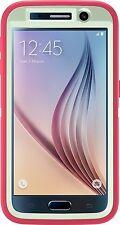 OtterBox DEFENDER Case for Samsung Galaxy S6 Melon Pop- Sage Green/Hibiscus Pink