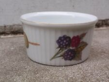 VINTAGE Royal Worcester in Inghilterra non infiammabile porcellana ciotola piatto Evesham PIROTTINO