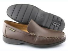 NEW Mens MEPHISTO HENRI Chestnut Brown Leather Loafers Size US 11 EUR 10.5 $385!