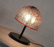 Noble Murano Aulenti VISTOSI Design Verre Lampe de table lampe pilzleuchte 70er Ans