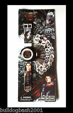 Batman VS Superman watch,built in projector,The Caped Crusader,Man of Steel,UK