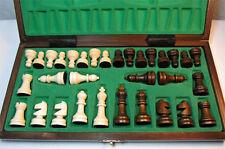 Schach Sehr schönes Schachspiel aus Holz 27 x 27 cm
