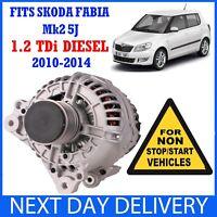 Mk2 5J /& ROOMSTER 1.4 2002-2015 Alternador Gasolina MPi Inc SKODA Fabia Mk1 6Y