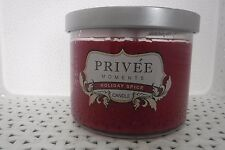 PRIVEE Moments HOLIDAY SPICE Candle 14.75 oz NEW